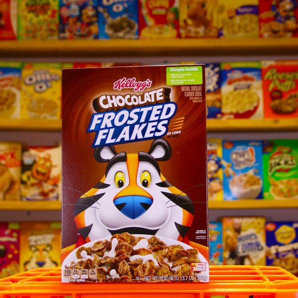 Choc Frosted Flake Box