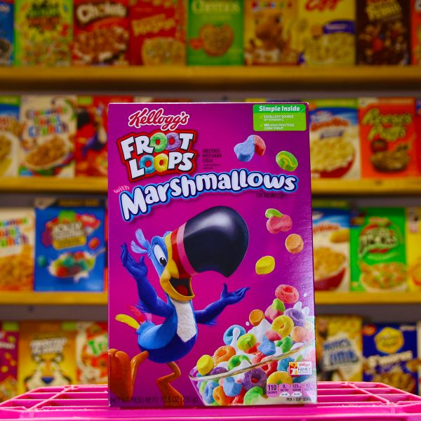 Froot Loop Marshmallow Cereal