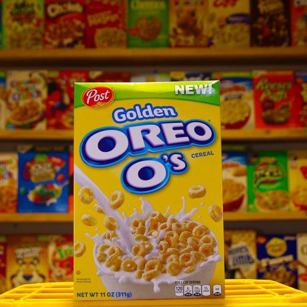 Oreo Os Golden cereal