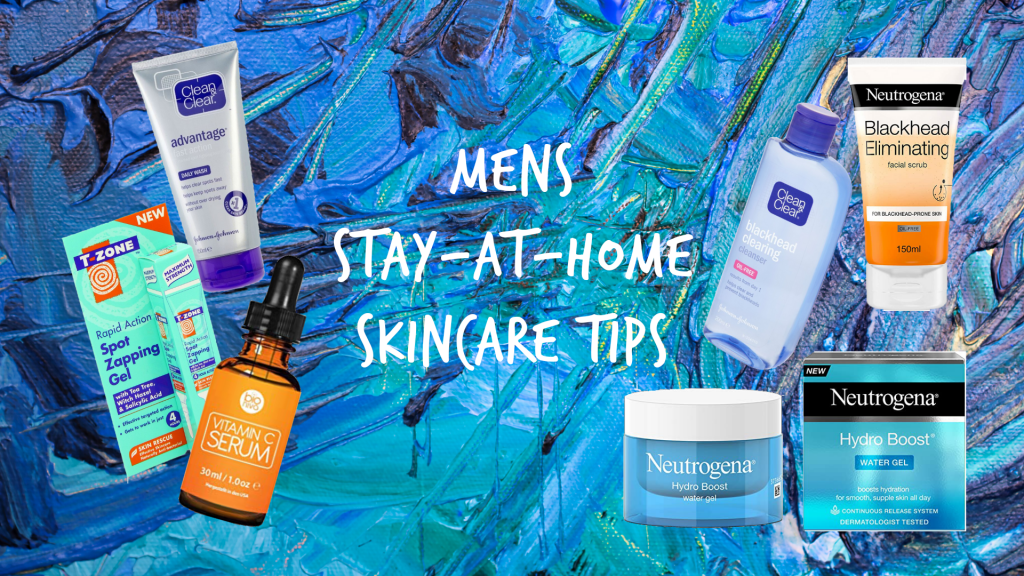 Mens Skincare Step by Step