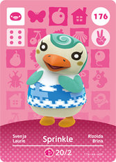 Sprinkle Amiibo card Animal Crossing New Horizons