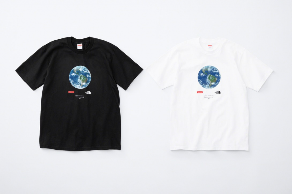 Supreme / The North Face One World One Purpose 2020 charity tee