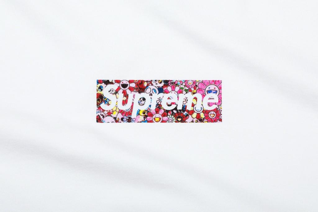 Takashi Murakami x Supreme box logo
