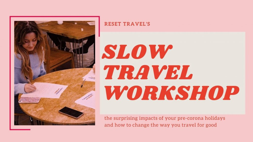 Resettravel Slow Fashion Workshop header image