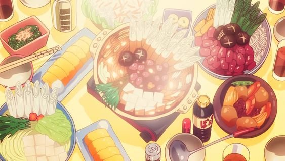 Dinner spread anime food, Chinese traditions we could apply to everyday life