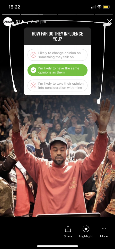 Kanye West praying, How far do they influence you?