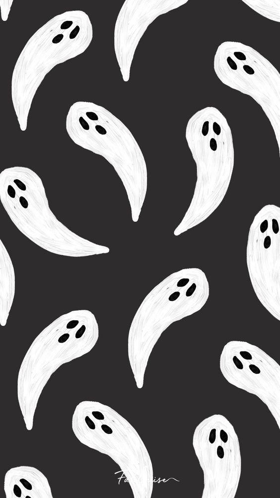 Ghosts swirling