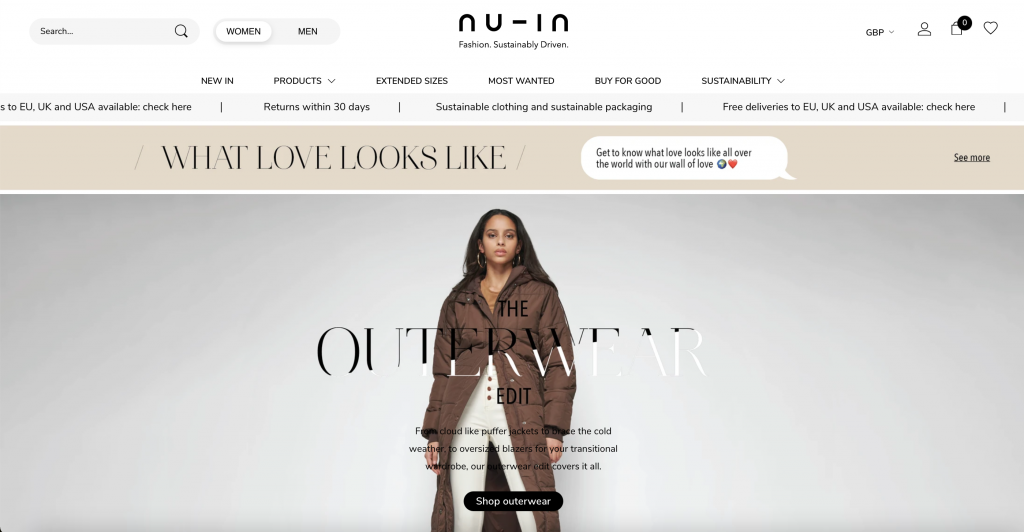 Sustainable Fashion brand