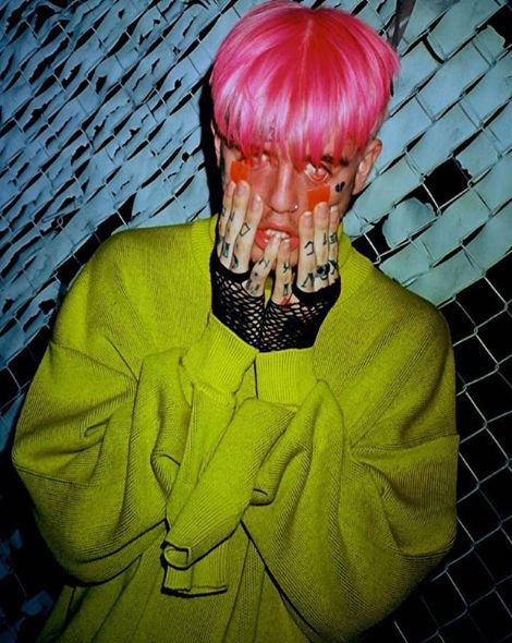 Lil Peep Luminous Colour