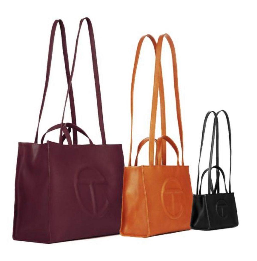 Telfar shopping bags