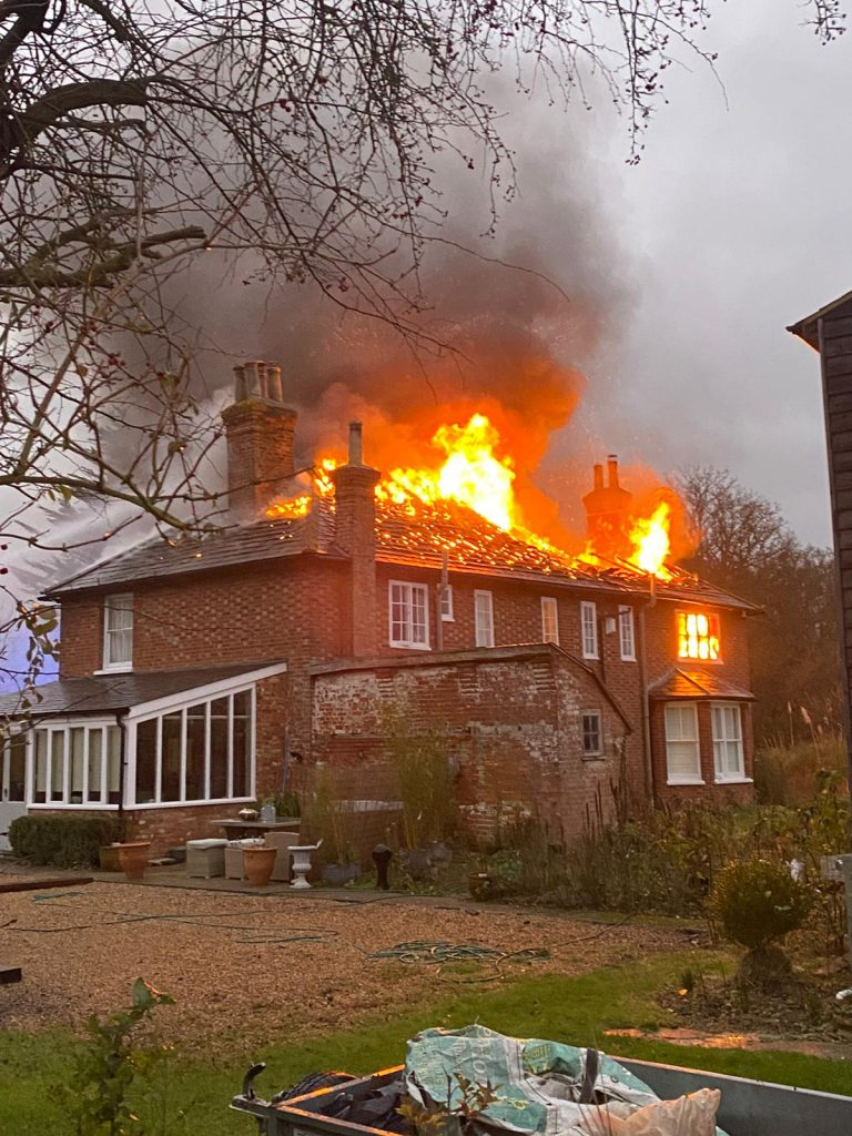 house fire, lessons I learnt